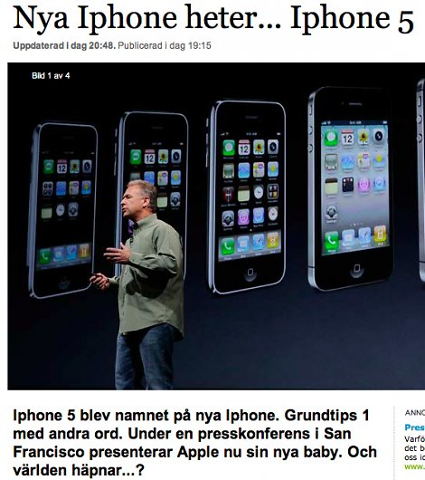 iPhone 5, DN
