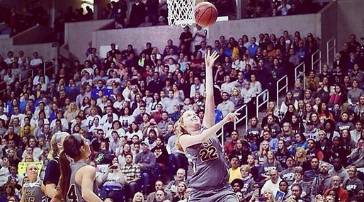 Lauren Hill,  Collagebasket, Hjärntumör,  ncaa, basket, Cancer