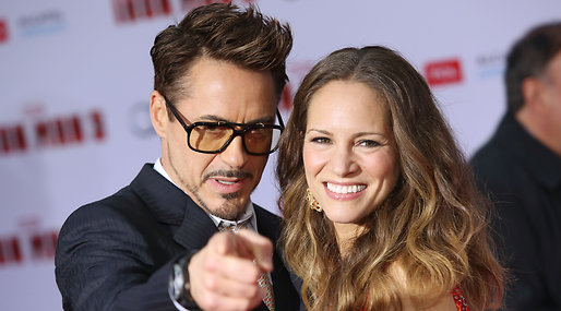 Robert Downey Jr, Exton Downey, Susan Downey