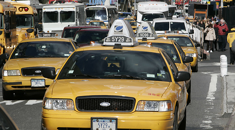 Los Angeles, Taxi, New York, Las Vegas, Taxichaufför