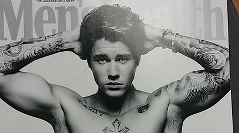 Justin Bieber, Omslag, Men's Health, Superkropp