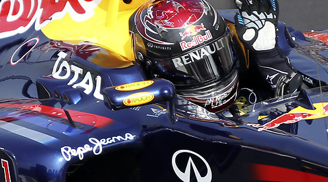 Fernando Alonso, Formel 1, Mark Webber, Jenson Button, Sebastian Vettel, Red Bull