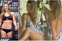 UFC, MMA, Sports Illustrated, Ronda Rousey