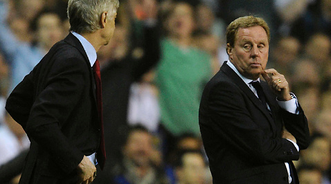 Tottenham, Premier League, Kritik, Arsene Wenger, Arsenal, Fotboll, Harry Redknapp