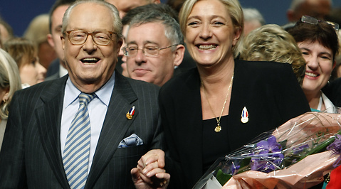 Front National, Frankrike, Le Pen