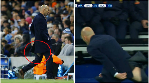Zinedine Zidane, Real Madrid, Byxor, Champions League, Manchester City