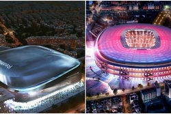 Camp Nou, Real Madrid, Barcelona