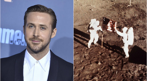 "Neil Armstrong, Ryan Gosling, ""First man"""