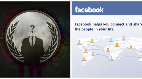 Hacker, Facebook, Spam, Anonymous