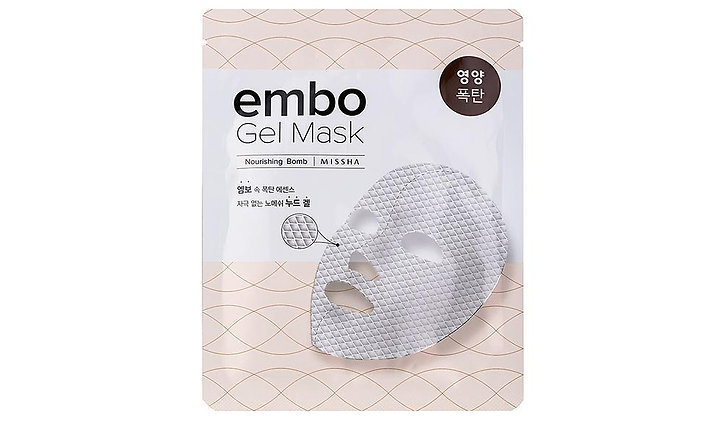 Missha gel sheet mask