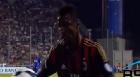Kevin Constant, milan, Fotboll, Kevin-Prince Boateng, serie a, Glåpord, Rasism