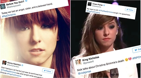 mord, Youtube, Christina Grimmie
