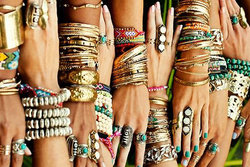 Armband, arm candy, Smycken,  arm party