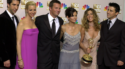 Matthew Perry, Jennifer Aniston, Vänner, Friends, Courtney Cox