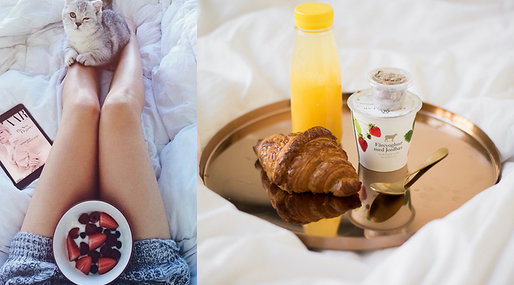 Morgon, Mat, Frukost, It-girls, Smoothie, Bloggare