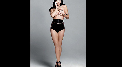 Esquire, Katy Perry, Topless