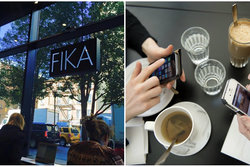 Fika, Kaffe, New York, London