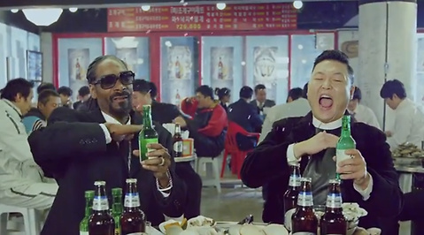 Hangover, Gangnam-style, Snoop Dogg, Jimmy Kimmel, Youtube, PSY