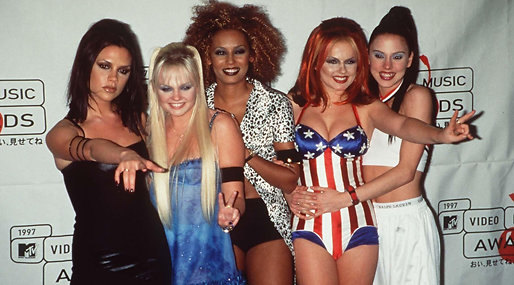 Spice Girls, Posh-Spice,  Sporty Spice