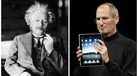Steve Jobs, smarthet, Intelligent, Kreativitet, Forskning, Albert Einstein