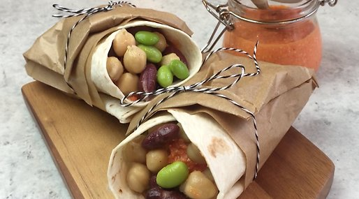 Wraps, Lunchrecept