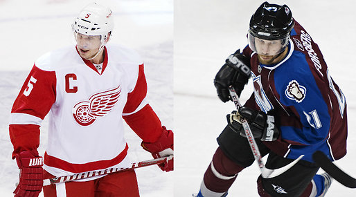 Colorado Avalanche, Nicklas Lidstrom, Peter Forsberg, nhl, Detroit Red Wings