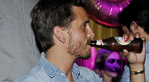 Alkohol, Scott Disick, Kourtney Kardashian