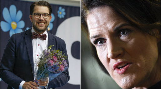 Sverigedemokraterna, Moderaterna