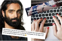 navid modiri, Facebook,  Facebook-grupp,  No hate, What do you need help with today buddy?