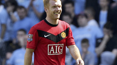 Premier League, Paul Scholes, Manchester United, Manchester City, Tottenham