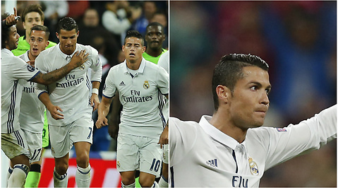 Ronaldo, Sporting Lissabon, Real Madrid
