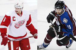 Colorado Avalanche, nhl, Detroit Red Wings, Peter Forsberg, Nicklas Lidstrom