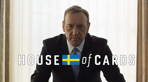 netflix, House of cards, Totte Löfström, Ellinor Svensson, Kevin Spacey