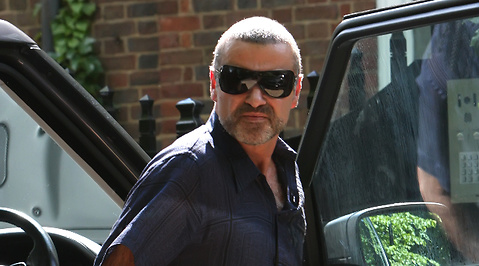 arresterad, George Michael