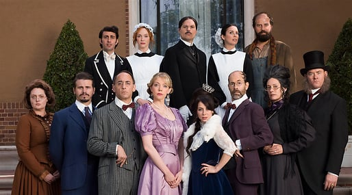 Comedy Central, another period, tv-serie, bellacourt, Parodi