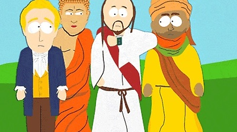 Muhammed, Islam, Comedy Central, Censur, Hot, South Park