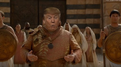 Spridning, President, Youtube, Komedi, Westeros, Humor, Parodi, USA, Video, Internet, Sociala Medier, game of thrones, Roligt, Donald Trump, HBO, Inhopp