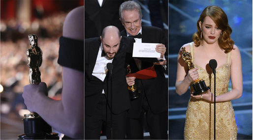 Hollywood, la-la land, En man som heter Ove, Moonlight, Oscars, Linus Sandgren, Academy Awards, Oscarsgalan