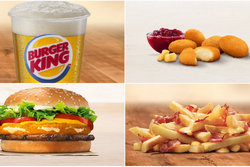 Burger King, Utomlands,  Meny, Pommes Frites