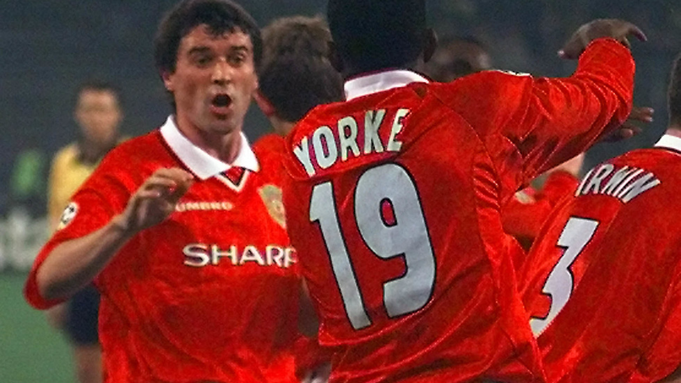 Dwight Yorke gjorde succé i Manchester United.