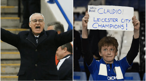 Claudio Ranieri, Fotboll, Premier League, Leicester City