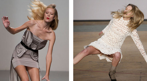 Fail, catwallk, runway,  models
