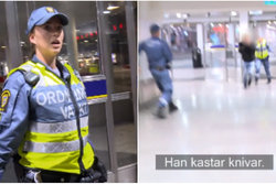 Knivman, Polis, Skottdrama,  n24video
